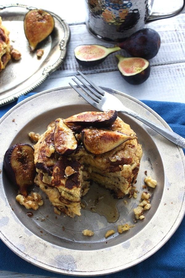 Walnut and Caramelized Fig Pancakes 4