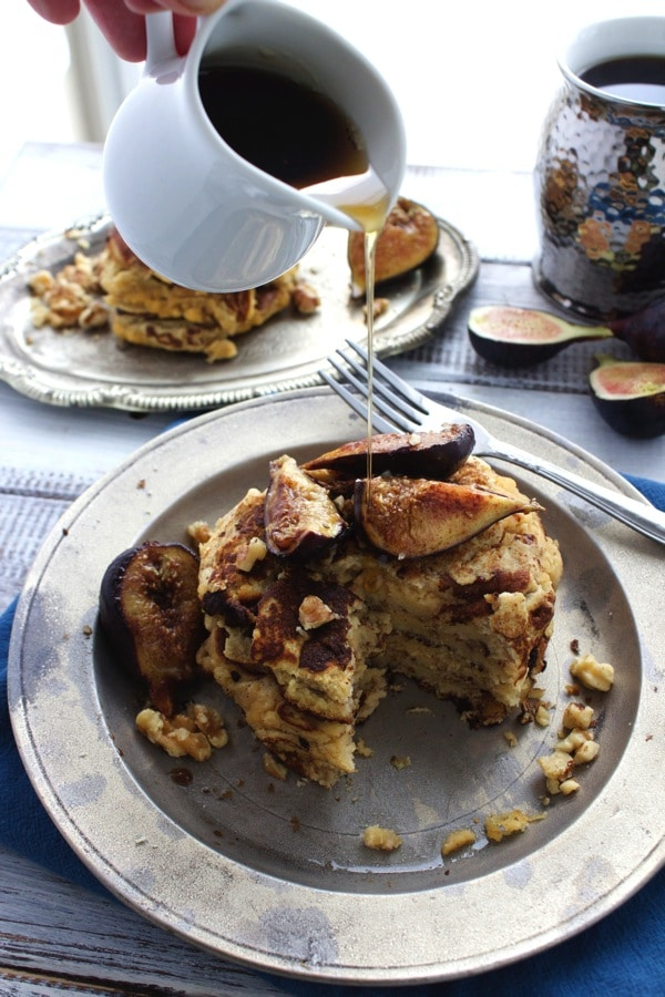 Walnut and Caramelized Fig Pancakes 8