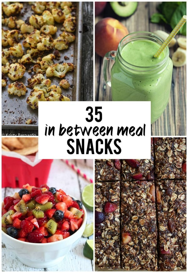 35 In Between Meal Snacks