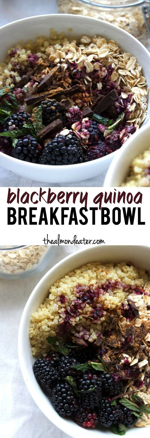 Blackberry Quinoa Breakfast Bowl