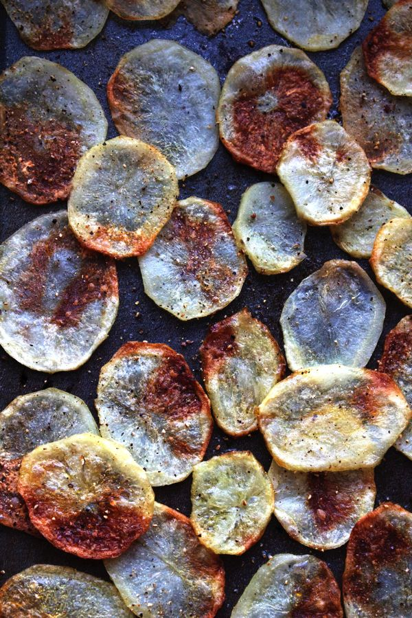 Homemade Salt Pepper Chips 4