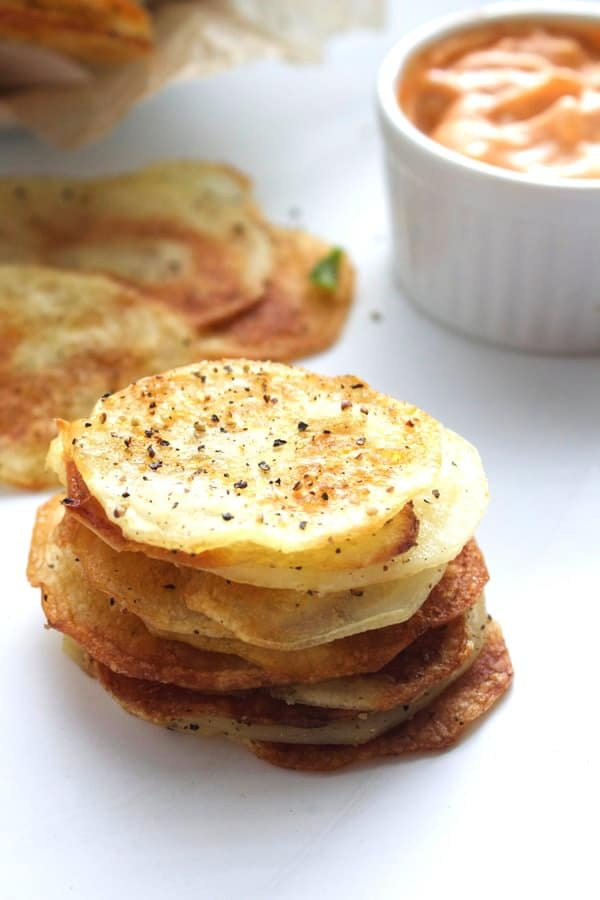 Homemade Salt Pepper Chips 8