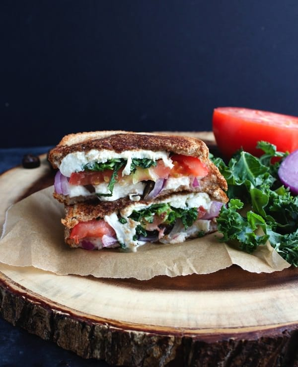 Mediterranean Grilled Cheese Sandwich 8