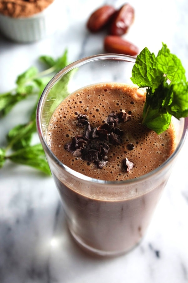 Mint Chocolate Chip Smoothie 5
