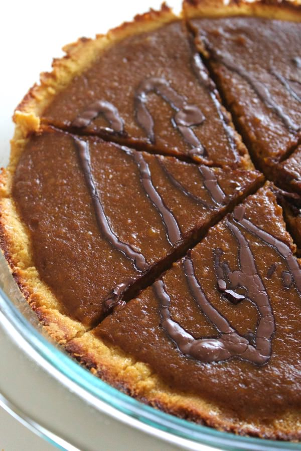Paleo Chocolate Pumpkin Pie 1