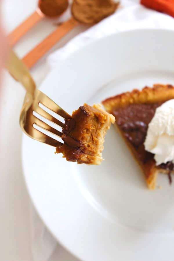 Paleo Chocolate Pumpkin Pie 10