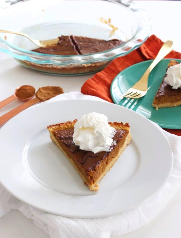 Paleo Chocolate Pumpkin Pie 8