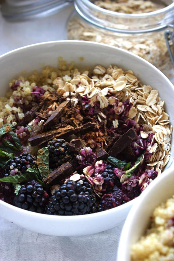 Blackberry Quinoa Breakfast Bowl 5