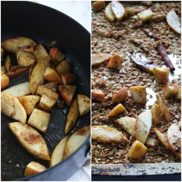 Caramelized Apple Cinnamon Granola 11