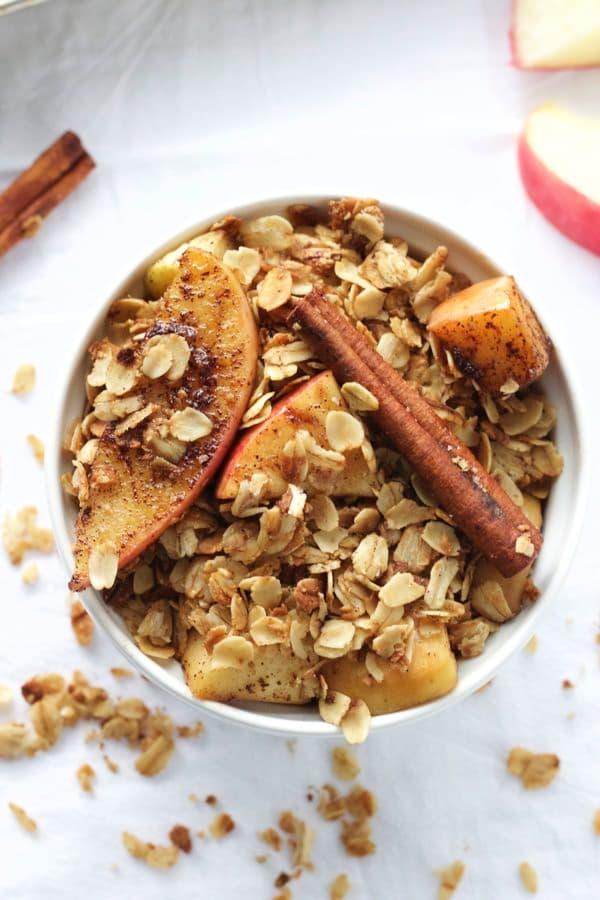Caramelized Apple Cinnamon Granola 8