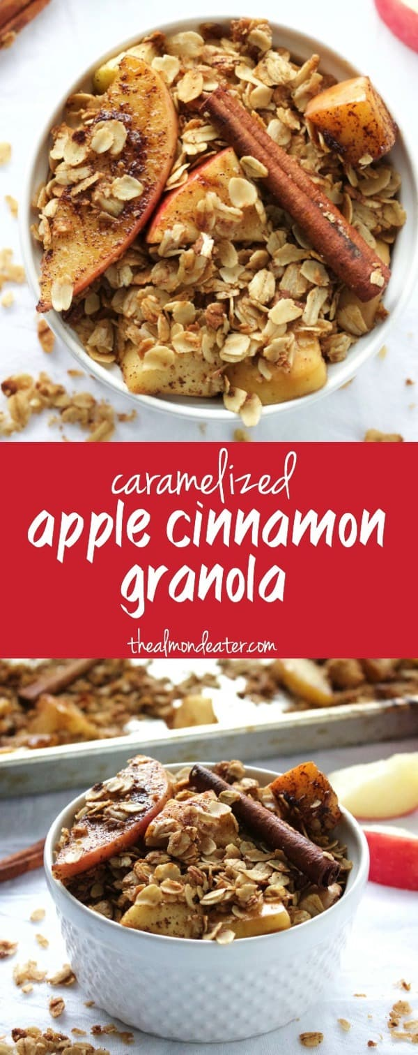 Caramelized Apple Cinnamon Granola