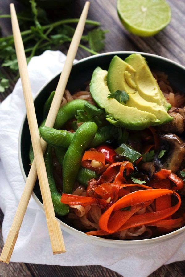 Chili Lime Thai Noodle Bowl