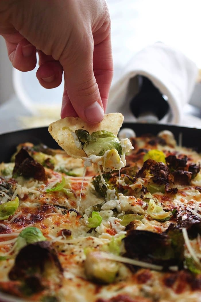 Cheesy Brussels Sprouts Dip 5