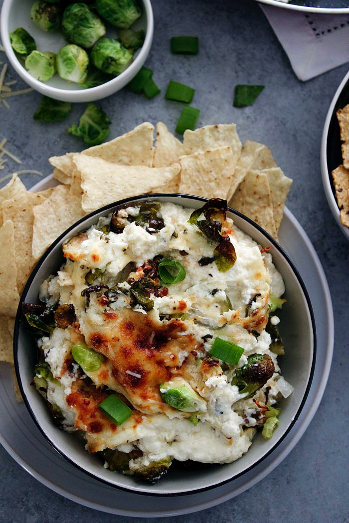 Cheesy Brussels Sprouts Dip 7