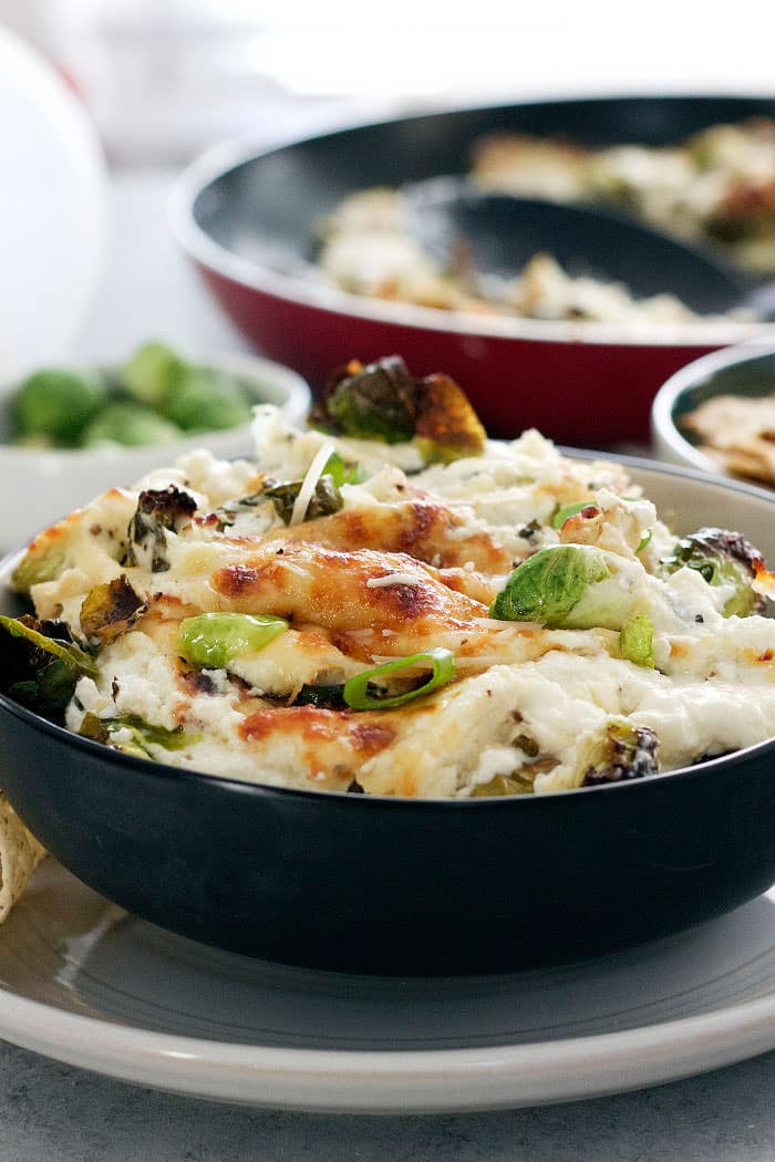 Cheesy Brussels Sprouts Dip 8