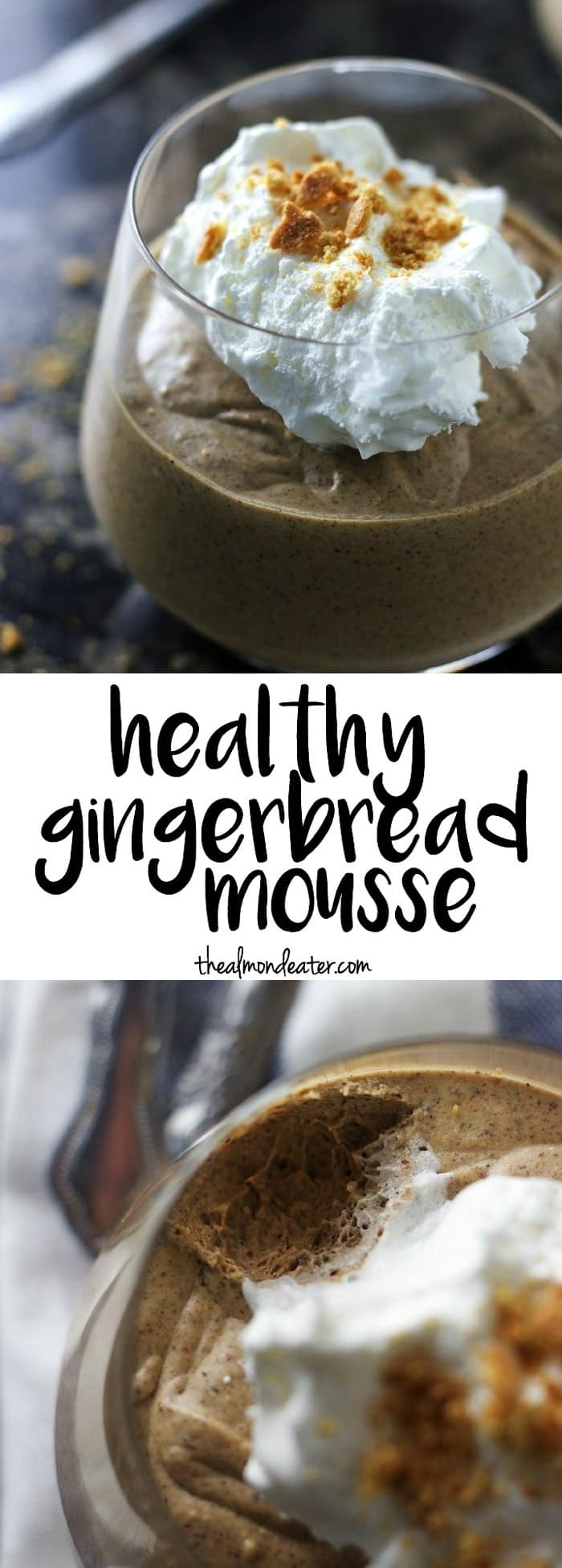 Healthy Gingerbread Mousse