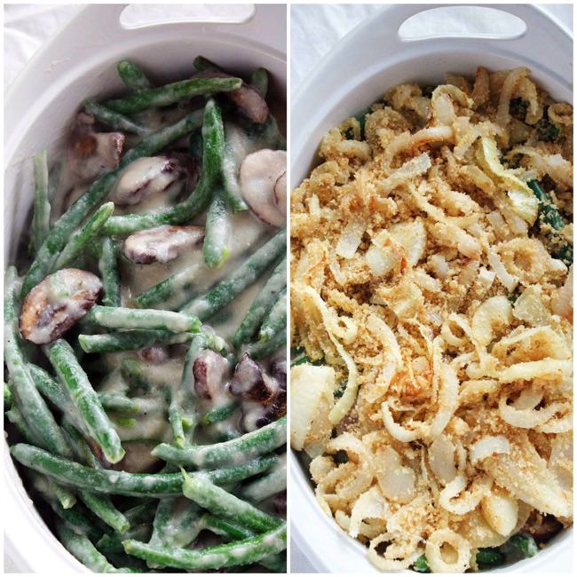 Healthy Green Bean Casserole with Cauliflower Sauce 20