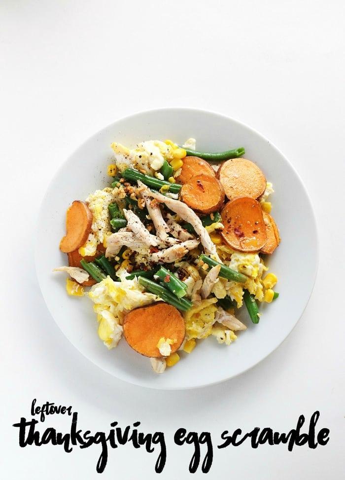 Leftover Thanksgiving Egg Scramble 51