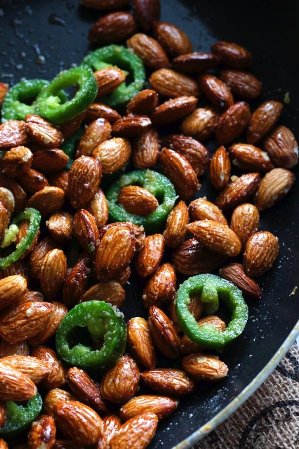 Spicy Jalapeno Almonds 1