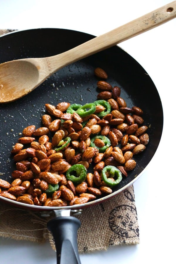 Spicy Jalapeno Almonds 2