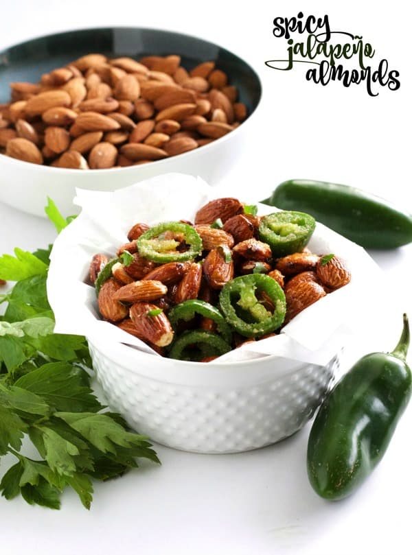 Spicy Jalapeno Almonds