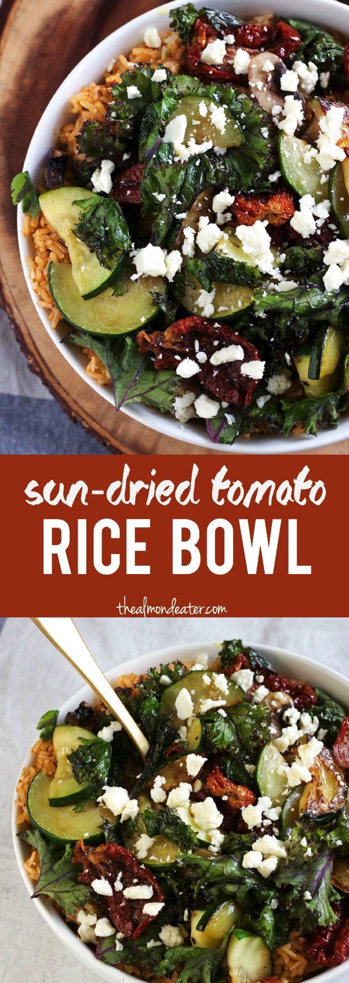 Sun Dried Tomato Rice Bowl