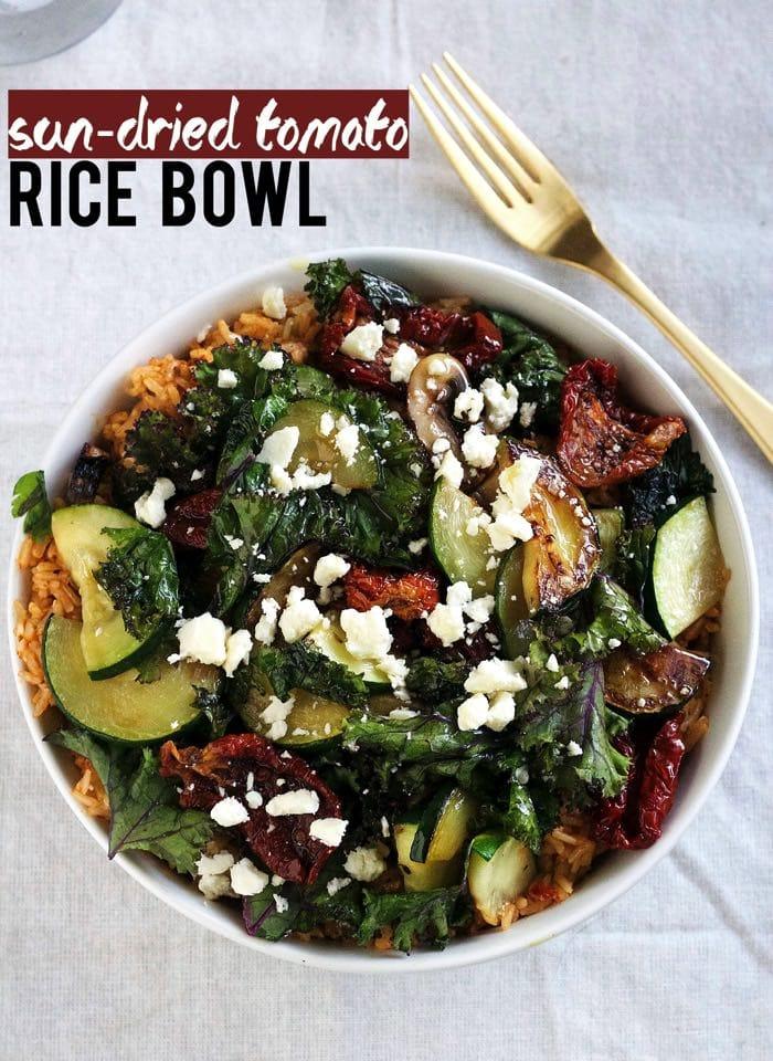 Sun Dried Tomato Rice Bowl 101