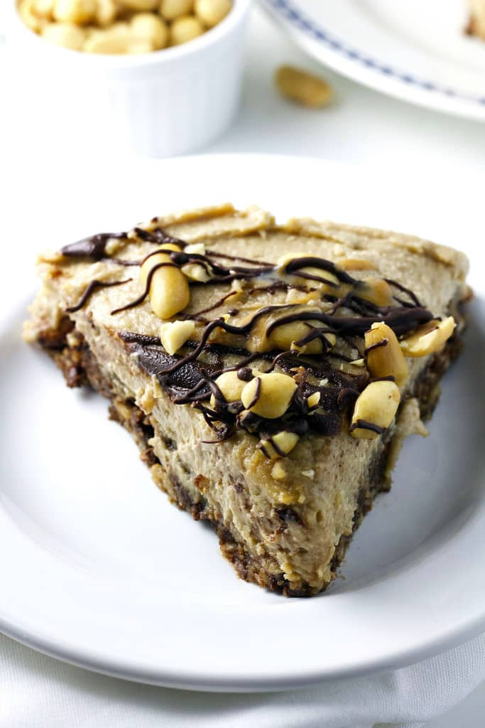 Vegan Peanut Butter Lover's Cheesecake 11
