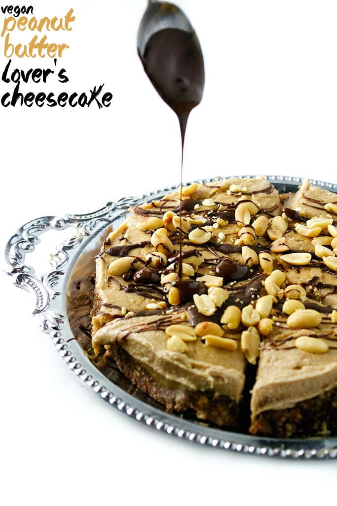 Vegan Peanut Butter Lover's Cheesecake 31 copy