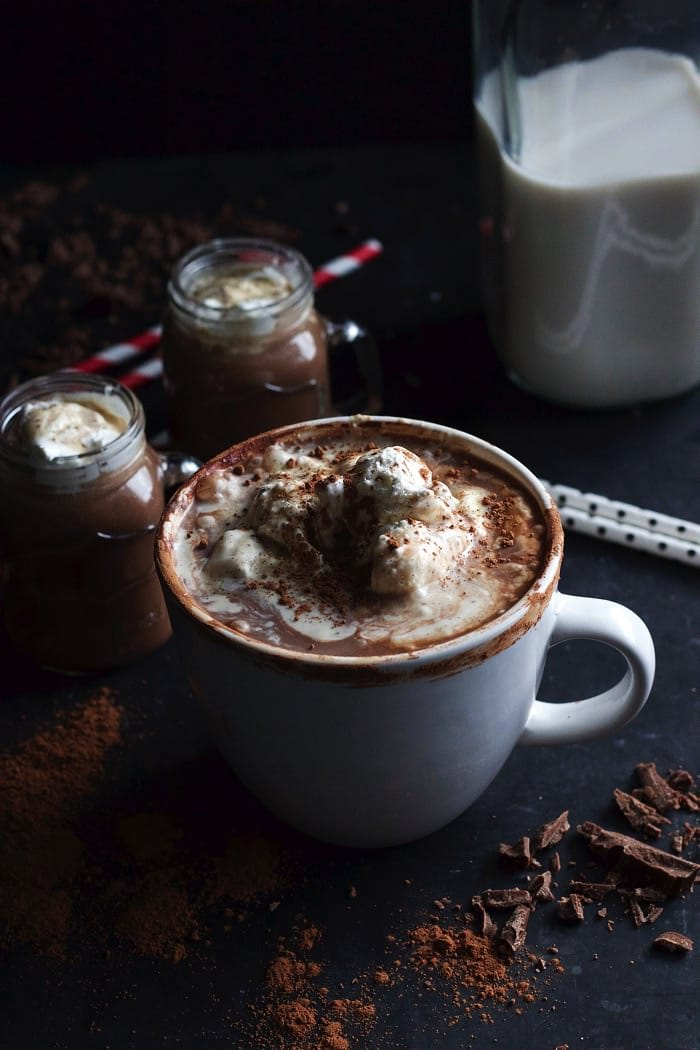 Phone Hot Chocolate Mashmallowa