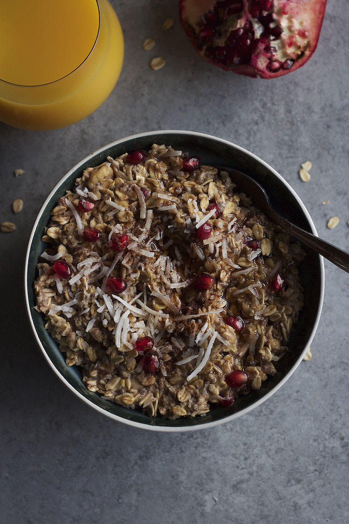 Cinnamon Spice and Pomegranate Oatmeal 12