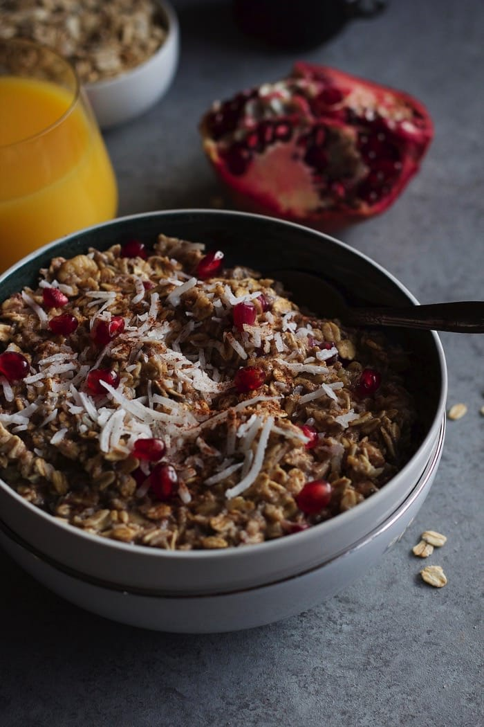 Cinnamon Spice and Pomegranate Oatmeal 8