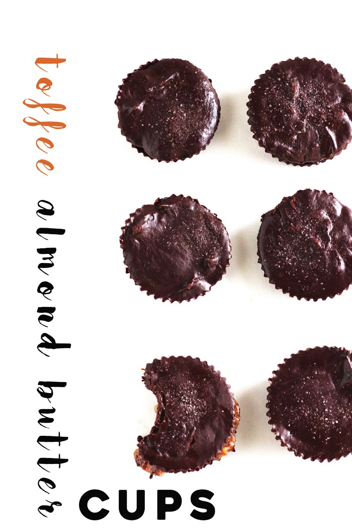 Toffee Almond Butter Cups 41