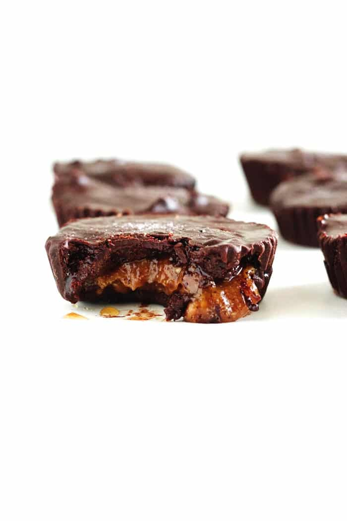 Toffee Almond Butter Cups 5
