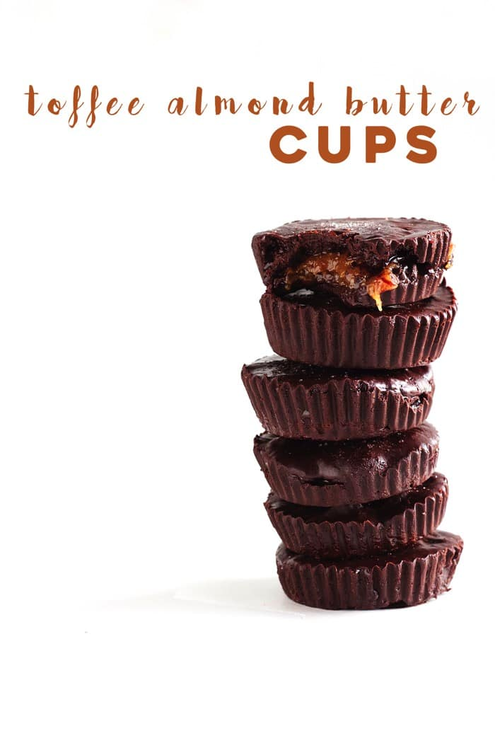 Toffee Almond Butter Cups 91