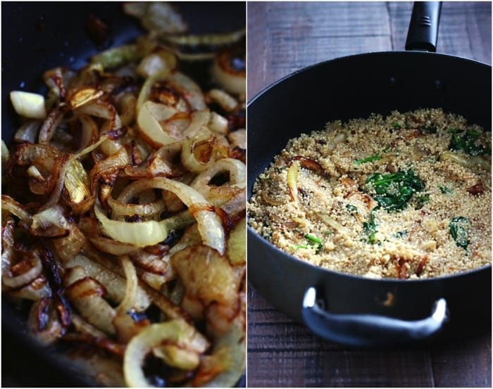 Caramelized Onion and Parmesan Quinoa 10