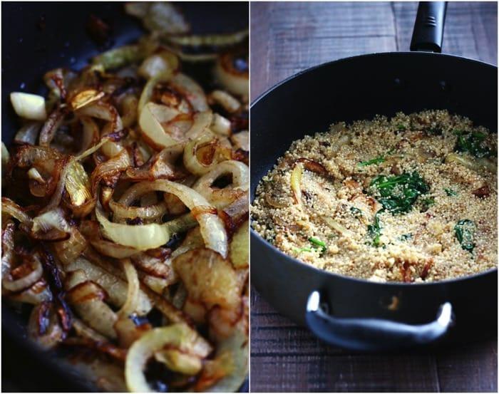 Caramelized Onion and Parmesan Quinoa 10