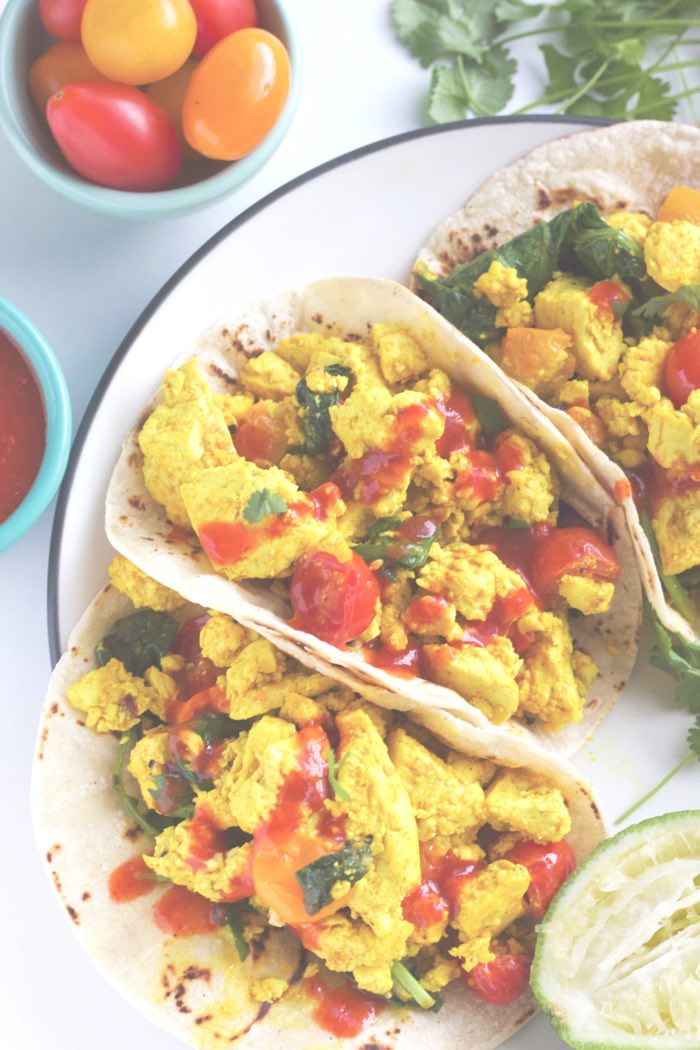 Easy Tofu Breakfast Tacos 171