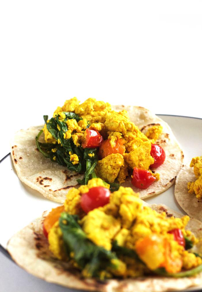 Easy Tofu Breakfast Tacos 4