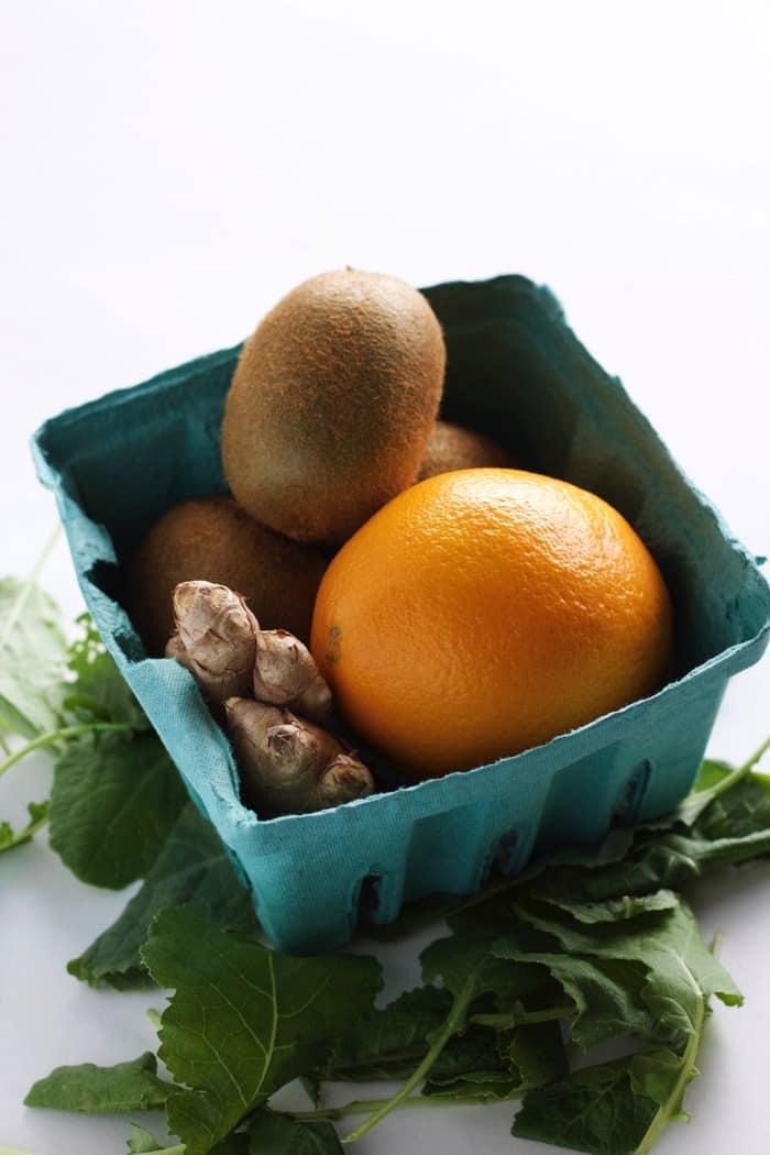 Green Vitamin C Smoothie 1