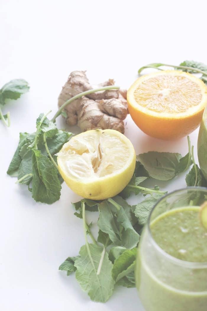 Green Vitamin C Smoothie 6