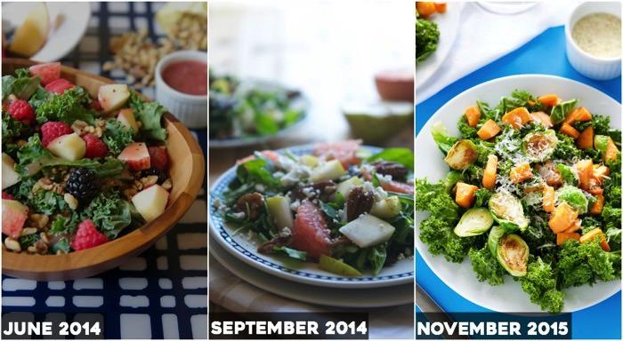 Kale then then now copy