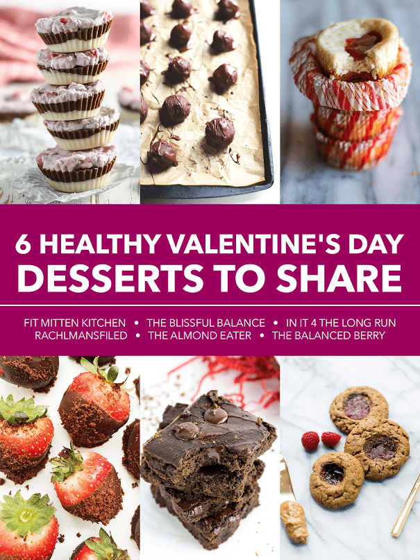 6 HEALTHY shareable desserts!