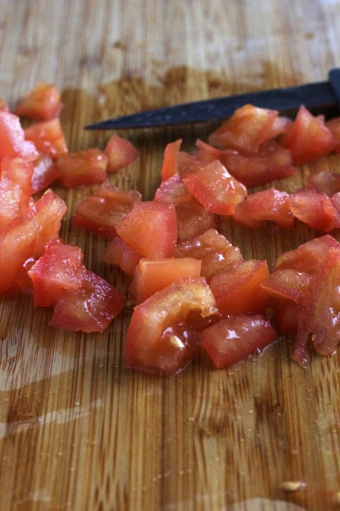 Feta and Tomato Egg Scramble 1