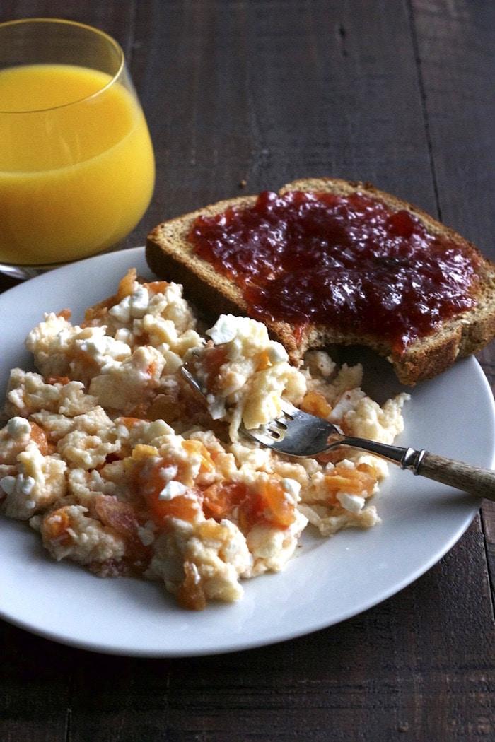 Feta and Tomato Egg Scramble 8