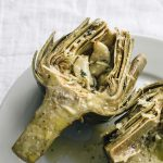 Learn how to roast an artichoke with this step-by-step tutorial | thealmondeater.com