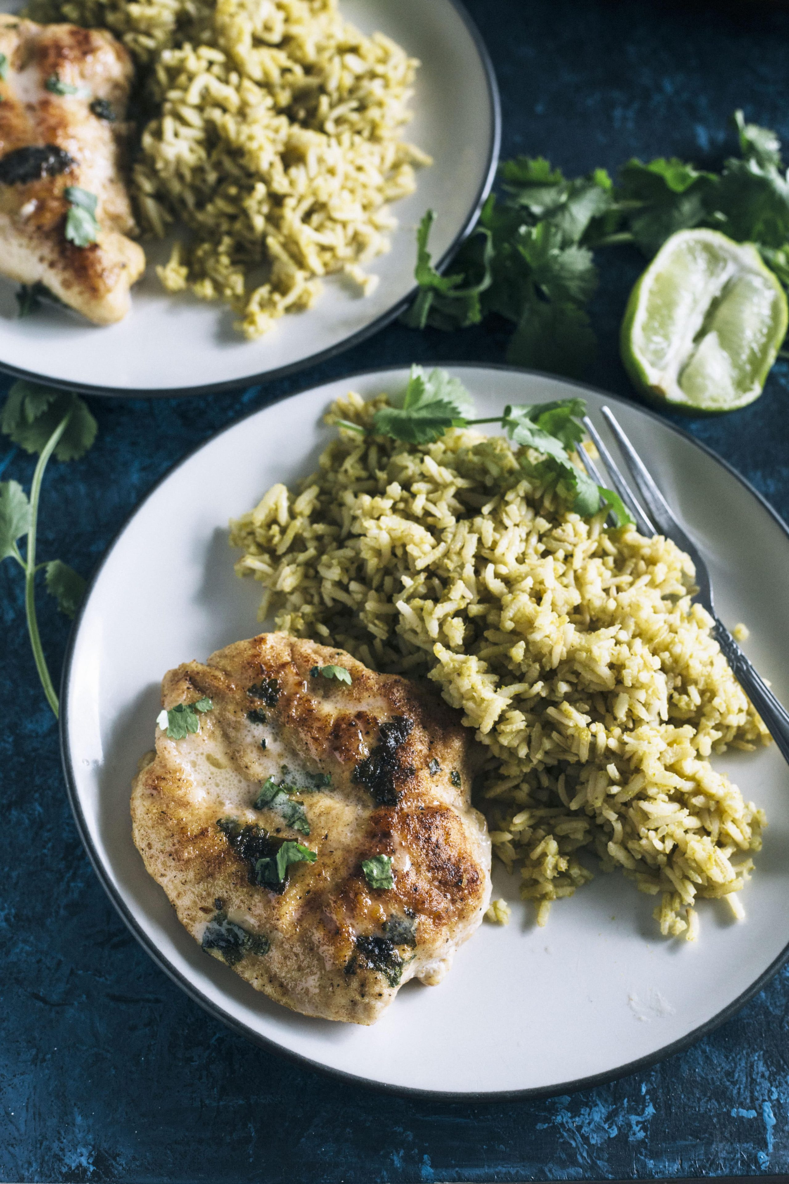 Skillet Chicken with Coconut and Cilantro 3
