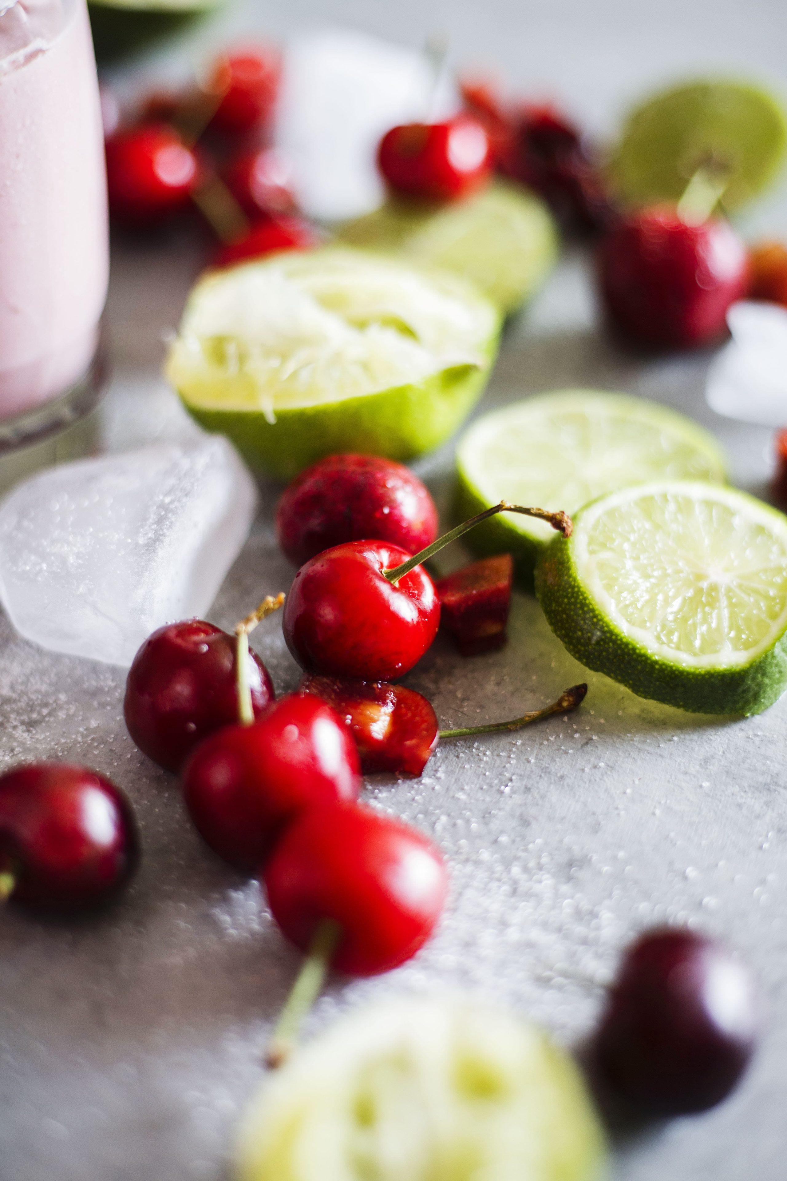 Cherry Coconut Margaritas