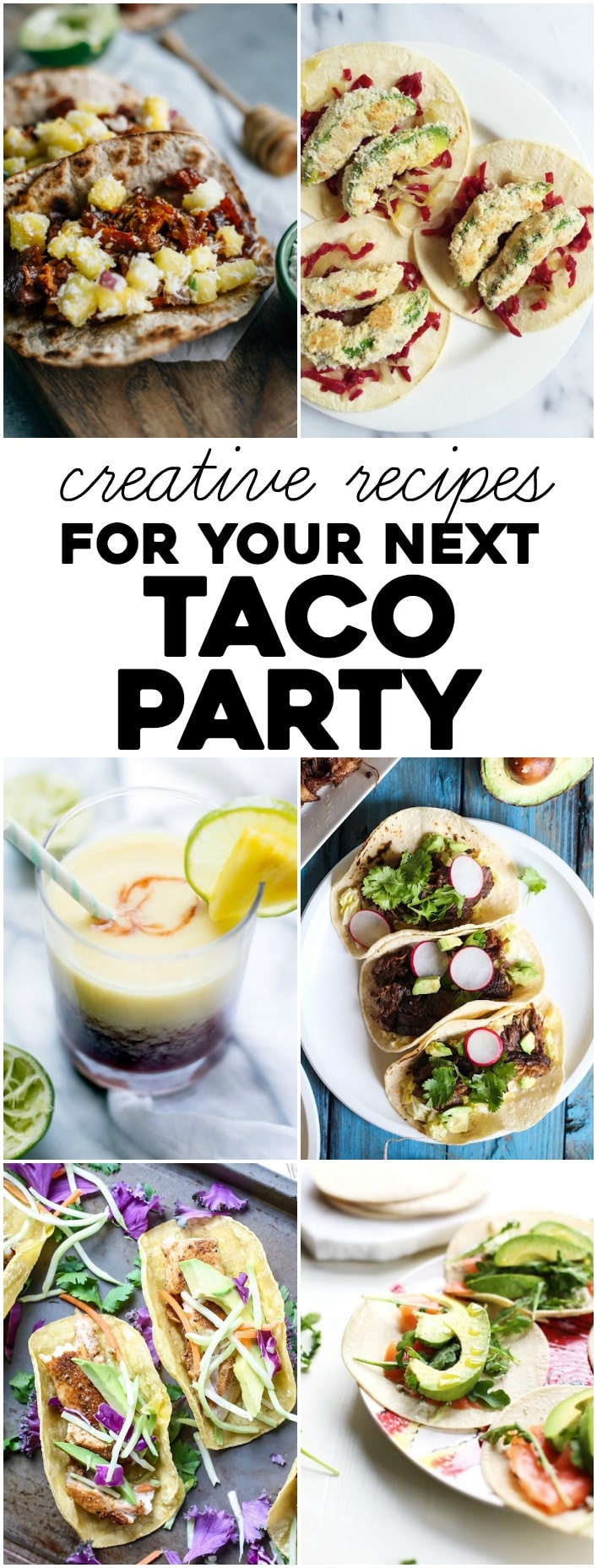 Try one (or all!) of these 6 recipes for your next taco night!