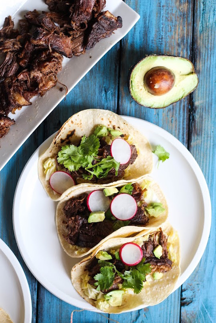 Braised short rib tacos